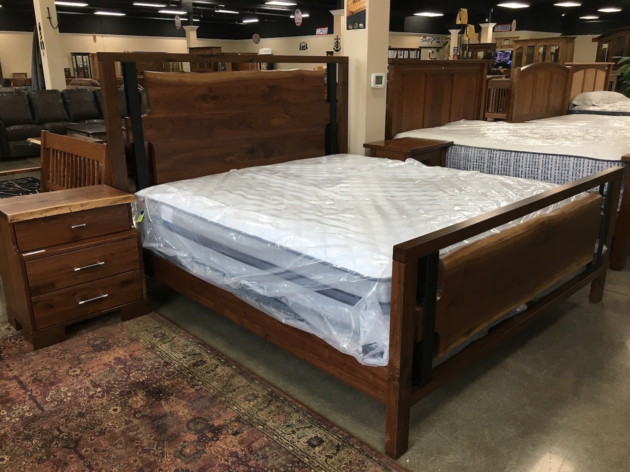 amish built bedroom set usa furniture and leather