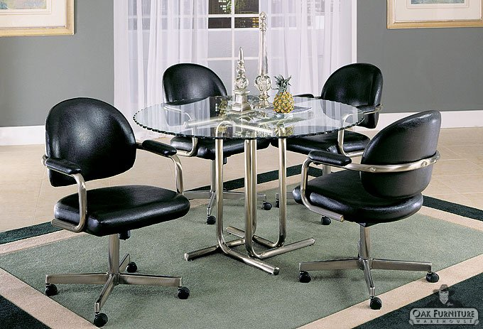 retro style kitchen table set usa furniture and leather