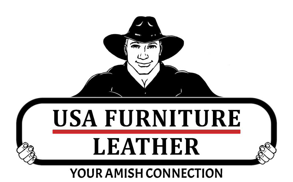usa furniture and leather amish connection logo